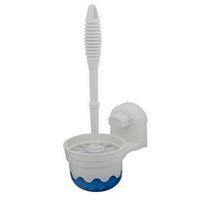 ALPYOG Toilet Brush holder Toilet Brush with Holder (White)