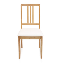 Mainland Dining Chair - @home by Nilkamal, Light Oak