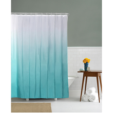 Gradation 180 cm x 200 cm Shower Curtain - @home by Nilkamal, Teal