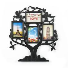 Family Tree Collage Photo Frame - @home by Nilkamal, White