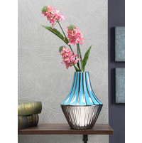 Azure Aura Stout Vase, Sea Green