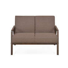 Andrea 2 Seater Sofa Dark, Brown
