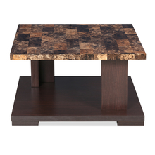 Lana Center Table - @home by Nilkamal, Walnut