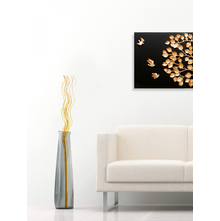 Solitary Tall Wicker Swirls - @home by Nilkamal, Yellow
