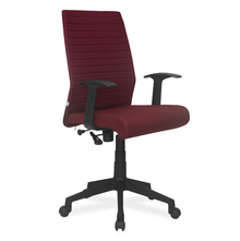 Nilkamal Thames Medium Back Fabric Office Chair, Maroon