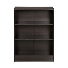 Fame 3 Tier Small Bookshelf - @home by Nilkamal, Black Oak