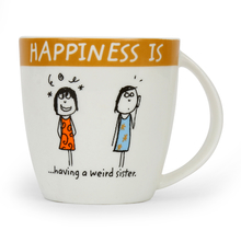 Hap Sister 320ML Coffee Mug, Brown