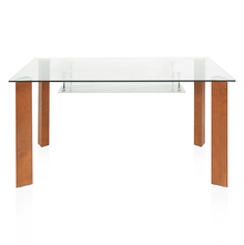 Roman 6 Seater Dining Table - @home by Nilkamal, Walnut