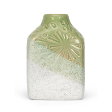 Tropical Delight Small 12X8X18CM Vase, Green