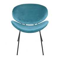 Smile Occassional Chair, Sea Blue