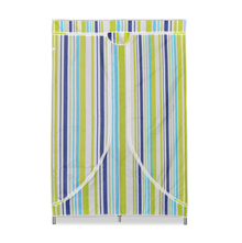 Nilkamal Blend Folding Cloth Wardrobe, Green