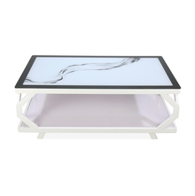 Nilkamal Elisa Center Table, White