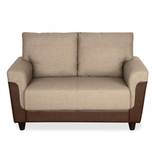 Saviour 2 Seater Sofa - @home by Nilkamal, Mocha Brown