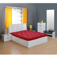 Snehamxl 5 Coir Mattress - @home By Nilkamal,  maroon, 78x60x5