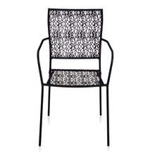 Nilkamal Erinda Chair With Arm, Black