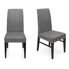 Selene Dining Chair Set of 2 - @home by Nilkamal, Ash White