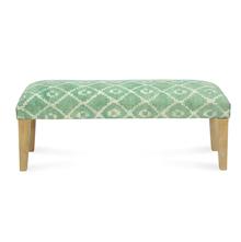 Spatial Bench, Beige & Green