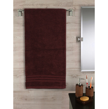 Zerotwist 70 cm x 140 cm Bath Sheet, Brown