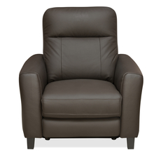 Admiral 1 Seater Sofa With Electrical Recliner, Dark Brown