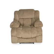 Aviator 1 Seater Sofa with 1 Electric Recliner - @home by Nilkamal, Beige