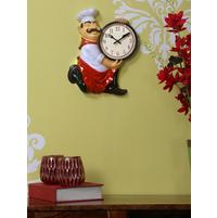 Masterchef Wall Clock - @home by Nilkamal, Multicolor