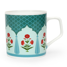 Director Jharokha 250 ml Coffee Mug - @home by Nilkamal, Sea Green