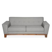 Budapest 3 Seater Sofa - @home by Nilkamal, Elite Grey