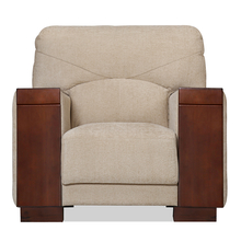 Laos 1 Seater Sofa - @home By Nilkamal,  beige