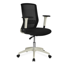 Nilkamal Hydra Mid Back Office Chair, Black & White