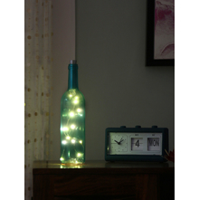 Led 7X7X31CM Bottle, SeaGreen