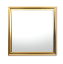 Reflection 80 x 80 cm Mirror - @home by Nilkamal, Champagne Gold