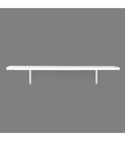 Classic & Janus Big Wall Shelf - @home by Nilkamal, White