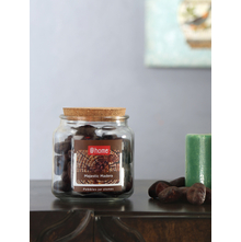 Big Stone Pebbles Jar, Brown