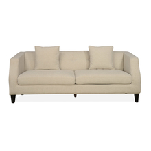 Eugene 3 Seater Sofa With Pillow, Charcoal