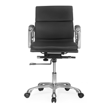 Nilkamal Supra Mid Back Office Chair, Black