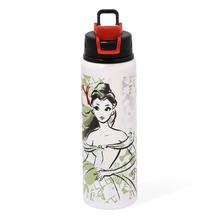 Alu Bella Sports 750 ml Bottle, White & Green