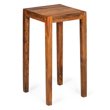 Liberty Square Side Table - @home Nilkamal,  walnut