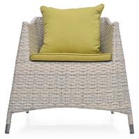 Villa 1 Seater Sofa - @home Nilkamal,  white