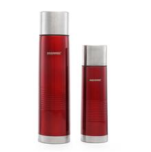 Bergner Flask Vaccum Set Of 2 - Red