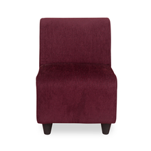 Bolt 1 Seater Sofa without Arm - @home by Nilkamal, Maroon