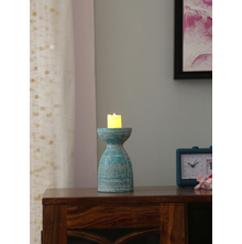 Artistry Candle Holder, Sea Green
