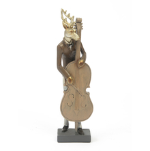 Celio Deer Showpiece - @home by Nilkamal, Gold