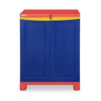 Nilkamal Freedom Small Cabinet,  blue