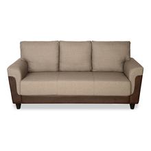 Saviour 3 Seater Sofa - @home by Nilkamal, Mocha Brown