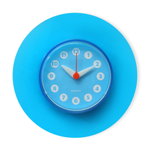 Aqua Suction Wall Clock - @home by Nilkamal, Blue
