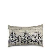 Splash 30 cm x 45 cm Filled Cushion - @home by Nilkamal, Indigo