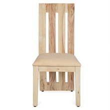 Delmonte Dining Chair With Cushion - @home by Nilkamal, White Natural