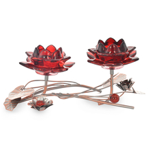 Table 2 Pieces Votive Stand - @home by Nilkamal, Maroon