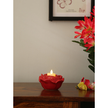 Bold Effect 12X6CM Candle Holder, Red