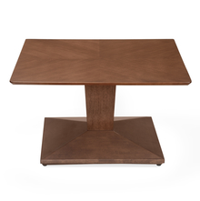 Glaze Center Table, Walnut